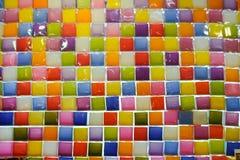 Kleurrijke kaars Stock Foto's