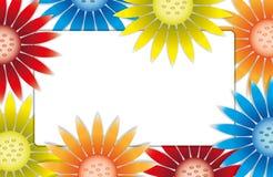 Kleurrijke kaart. Royalty-vrije Stock Afbeeldingen