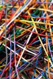 Kleurrijke Kabel Stock Foto's