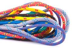 Kleurrijke kabellijnen Royalty-vrije Stock Afbeeldingen