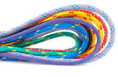 Kleurrijke kabellijnen Royalty-vrije Stock Foto's