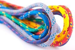 Kleurrijke kabellijnen Stock Afbeeldingen