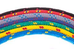 Kleurrijke kabelregenboog Royalty-vrije Stock Foto