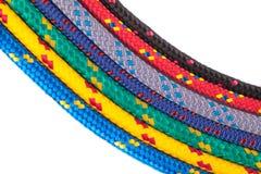 Kleurrijke kabelregenboog Royalty-vrije Stock Afbeelding