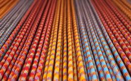 Kleurrijke kabels royalty-vrije stock foto