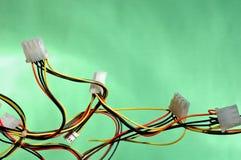 Kleurrijke kabels Royalty-vrije Stock Afbeelding