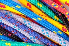 Kleurrijke kabels Stock Fotografie