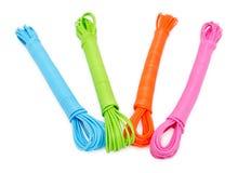 Kleurrijke kabels Royalty-vrije Stock Foto's