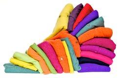 Kleurrijke kasjmieralpaca en merinoswol Royalty-vrije Stock Foto