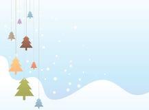Kleurrijke Kerstboom Royalty-vrije Stock Fotografie