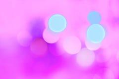 Kleurrijke Kerstmis abstracte achtergrond met bokehlichten Royalty-vrije Stock Afbeelding