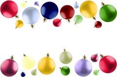 Kleurrijke Kerstmisballen. Royalty-vrije Stock Foto's