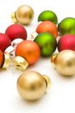 Kleurrijke Kerstmisballen Royalty-vrije Stock Fotografie