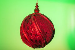 Kleurrijke Kerstmisballen Royalty-vrije Stock Afbeelding