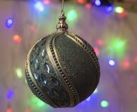 Kleurrijke Kerstmisballen Stock Afbeeldingen