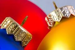 Kleurrijke Kerstmisballen i Royalty-vrije Stock Fotografie