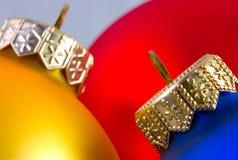 Kleurrijke Kerstmisballen i Royalty-vrije Stock Afbeeldingen