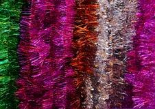 Kleurrijke Kerstmiskoorden Stock Afbeeldingen