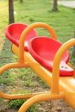 Kleurrijke kinderenspeelplaats Stock Afbeeldingen