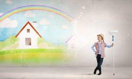 Kleurrijke kinderjaren Royalty-vrije Stock Foto's