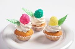 Kleurrijke kleine cakes Royalty-vrije Stock Afbeelding