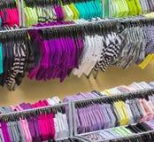Kleurrijke kleren Royalty-vrije Stock Foto's