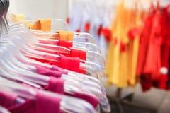 Kleurrijke kleren Royalty-vrije Stock Foto