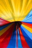 Kleurrijke kleuren van een paraplu Royalty-vrije Stock Fotografie
