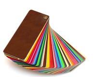 Kleurrijke kleurengids stock afbeeldingen
