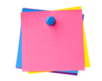 Kleurrijke kleverige nota's Royalty-vrije Stock Fotografie