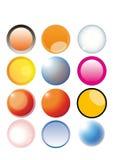 Kleurrijke knopen royalty-vrije illustratie