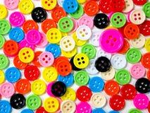 Kleurrijke knopen Stock Afbeeldingen
