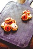 Kleurrijke koekjes stock afbeelding