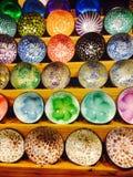 Kleurrijke kokosnotenshells Royalty-vrije Stock Foto