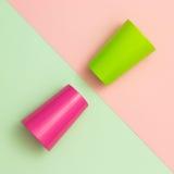 Kleurrijke Koppen stock afbeelding