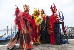 Kleurrijke Kostuums Royalty-vrije Stock Afbeeldingen