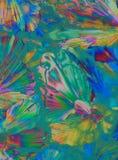 Kleurrijke kristallen royalty-vrije stock afbeeldingen