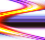Kleurrijke krommen Stock Afbeeldingen
