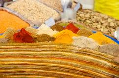 Kleurrijke Kruiden Stock Afbeeldingen