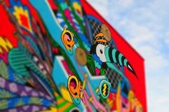 Kleurrijke kunst van de paleizen van Montreal, 25 December, 2015 Royalty-vrije Stock Foto
