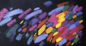 Kleurrijke kunstachtergrond Royalty-vrije Stock Fotografie