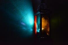 Kleurrijke lamp Stock Foto