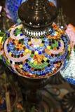 Kleurrijke lamp stock foto's