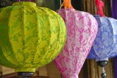 Kleurrijke lampions Royalty-vrije Stock Foto's