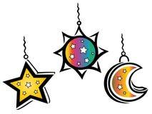 Kleurrijke lantaarns Royalty-vrije Stock Afbeelding
