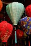 Kleurrijke lantaarns in Hoi An stock fotografie