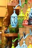 Kleurrijke lantherns Stock Afbeeldingen