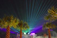 Kleurrijke licht toont Stock Afbeeldingen