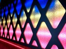 Kleurrijke lichte schaduwen Royalty-vrije Stock Foto