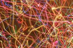 Kleurrijke lichten royalty-vrije stock foto's